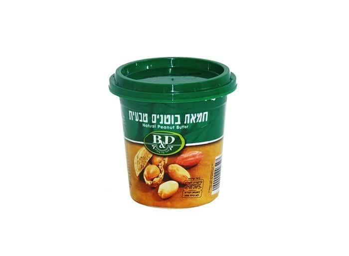 חמאת בוטנים טבעית - 350 גרם