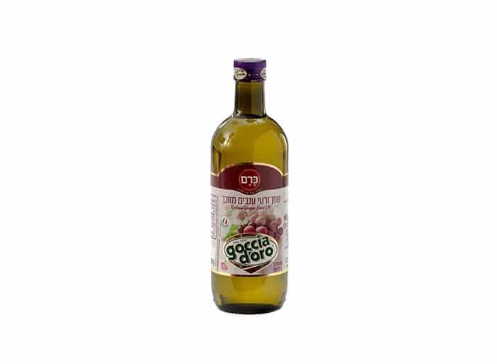 """שמן גרעיני ענבים """"כרם"""" 1 ליטר"""