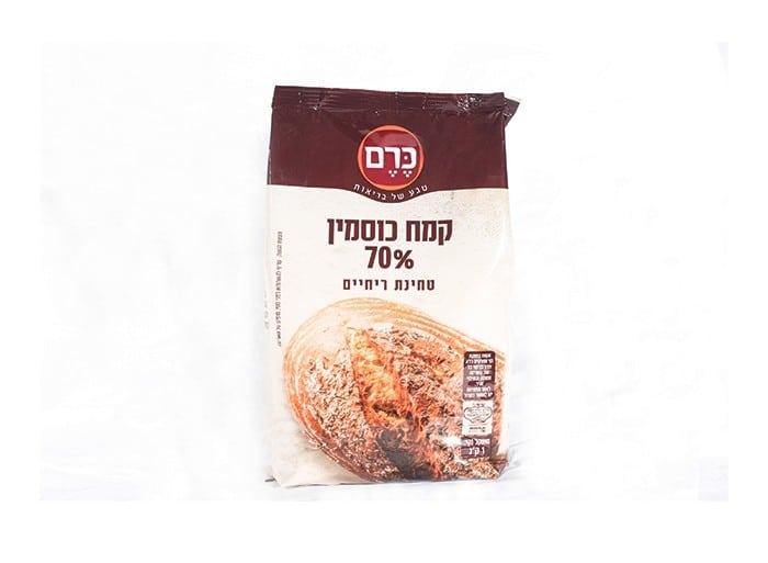 """קמח כוסמין 70% """"כרם"""" 1 ק""""ג"""