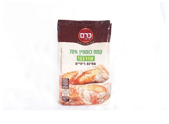 """קמח כוסמין אורגני 70% """"כרם"""" 1 ק""""ג"""