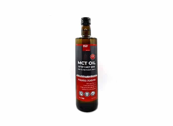 """שמן MCT """"קיטו שף"""" 750 מ""""ל"""