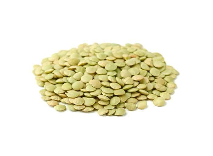 עדשים ירוקות